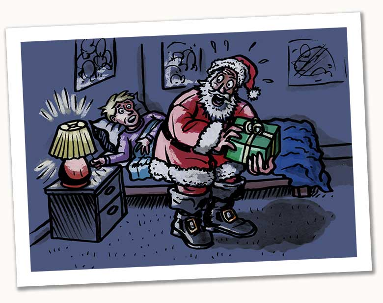 Santa's Dashboard Clock: A Case Study | UXmas | An advent