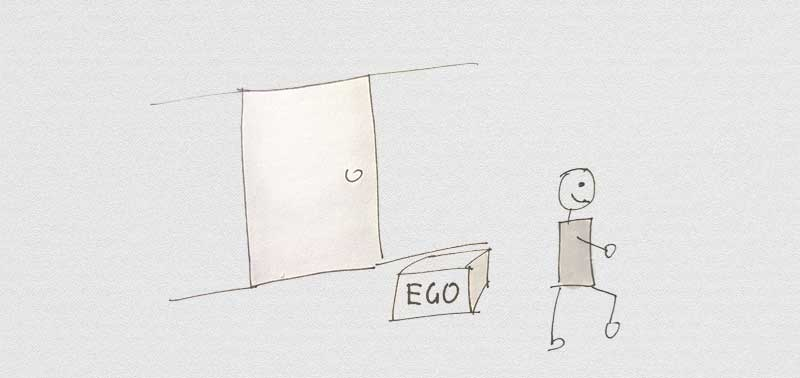 Park your ego